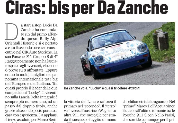 Rally Alpi Orientali Historic